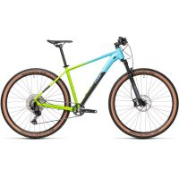Bicicleta CUBE REACTION PRO fadingblue/green 19'' ( L) 2021