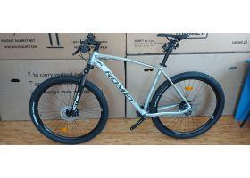 "Bicicleta de munte unisex Romet Mustang M3 gri/argintiu XL (21"") 2022"