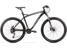 "Bicicleta de munte pentru barbati Romet Rambler Fit 27.5 Negru/Argintiu 2022 XL (20"")"