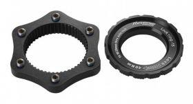 Adaptor centerlock Reverse negru
