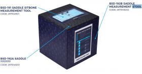 BBB BSD-191 Measurement tool Sit bone blue