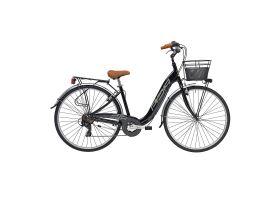 Bicicleta Adriatica Relax 28 6V neagra 450mm