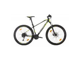 Bicicleta MTB Sprint Apolon 29 2021 Negru Mat/Verde Neon 480 mm
