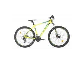Bicicleta MTB Sprint Maverick 29 2021 verde neon mat 480 mm