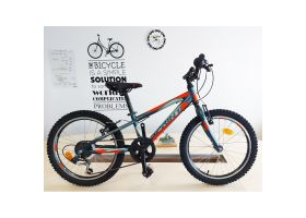 Bicicleta Sprint Hat Trick 20 2021 albastru mat
