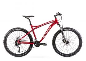 Bicicleta de munte pentru barbati Romet Rambler Fit 26 Bordo/Argintiu 2021 L (20'')