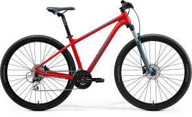 Bicicleta 2021 MERIDA BIG.NINE 20 mat rosu/albastruverzui L (19'') 29''