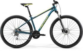 Bicicleta 2021 MERIDA BIG.NINE 20 albastruiverzui/-albastru/lime M (17'') 29'' in stoc 15.06.2021