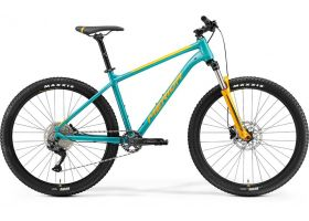 Bicicleta 2021 MERIDA 2021 BIG.SEVEN 200 albastruiverzui/albastru/portocaliu M (17'') in stoc din 30.08.2021