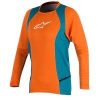 Bluza Alpinestar Stella Drop 2 L/S Jersey bright orange/ocean S