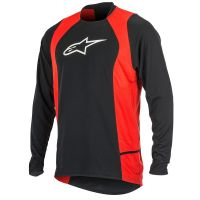 Bluza Alpinestars Drop 2 long Sleeve Jersey black/red S