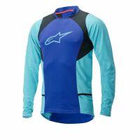 Bluza Alpinestars Drop 2 long Sleeve Jersey blue/stratos/aqua XL