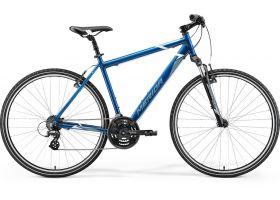 Bicicleta 2021MERIDA  CROSSWAY 10-V albastruotel/alb L ( 55)