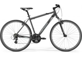 Bicicleta 2021 MERIDA CROSSWAY 10-V silk antracit/gri/negru S/M ( 48) in stoc din 30.09.2021