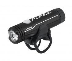 Far fata Force Pen 200lm USB negru