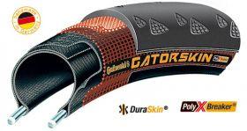 Anvelopa pliabila Continental Gatorskin 23-622 (700x23C) negru