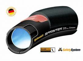 Anvelopa tubulara Continental Sprinter 28*22mm negru