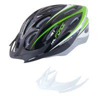 Casca Force Hal negru/verde/alb S-M