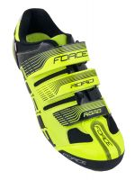 Pantofi Force Spike Road fluo/negru 42