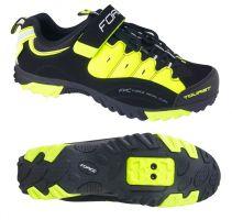 Pantofi Tourist Force negru/fluo 45