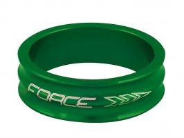 Distantier furca Force 1.1/8 10mm verde