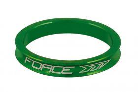 Distantier furca Force 1.1/8 5 mm al. verde