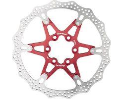 Disc frana Reverse Discrotor 160mm aluminiu/otel rosu