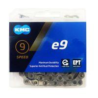 Lant KMC E9 EPT 9 Viteze 133 zale Ebike, Argintiu