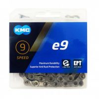 Lant KMC E9 Silver 9 Viteze 136 zale Ebike, Argintiu
