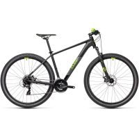 Bicicleta CUBE AIM 29'' Black Green 2021 cadru 17'' ( M)