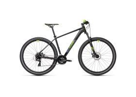Bicicleta CUBE AIM 29'' negru verde 2021 cadru 21'' ( XL)