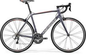 Bicicleta MERIDA 2020 SCULTURA 300 silk antracit (rosu), marime S/M