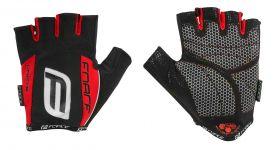 Manusi Force Darts17 gel fara banda velcro negru/rosu XXL