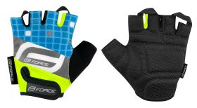 Manusi Force Kid F Square Albastru/Fluo XL