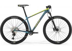 Bicicleta 2021 MERIDA BIG NINE 3000 silk lime/teal-blue M ( 17'') 29''