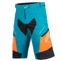 Pantaloni Alpinestar Stella Drop 2 ocean/bright orange 28