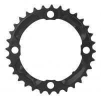 Placa pedalier Shimano FCM590 32 dinti neagra