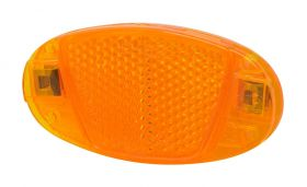 Reflectorizanti spite Force 80x40 mm orange