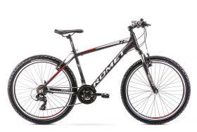 Bicicleta 2021 Romet Rambler R6.1 black/red M 26''