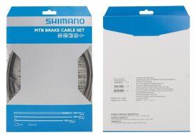 Set cabluri si camasi frana Shimano XTR MTB negru