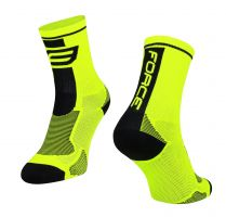 Sosete Force Long fluo/negru XS