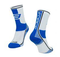 Sosete Force Long Plus albastru/negru/alb L-XL