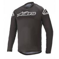 Tricou Alpinestars Racer V2 LS Black/ White L