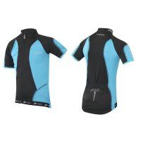 Tricou ciclism Force Kid Star 154-164 cm negru/albastru
